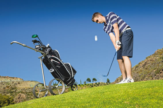 Relaxed Golfing With Maxon Motors