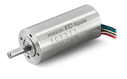 Swiss drive specialist maxon motor has developed a robust brushless DC motor for hand-held surgical tools: the EC-4pole 30