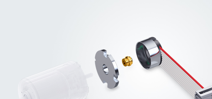 Robust encoders, DC tachometers, and resolvers with high accuracy and high signal resolution