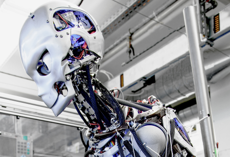 Kenshiro humanoid robot, maxon motor ag © 2013
