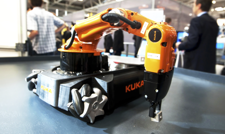 Small robot is a big number in open source
