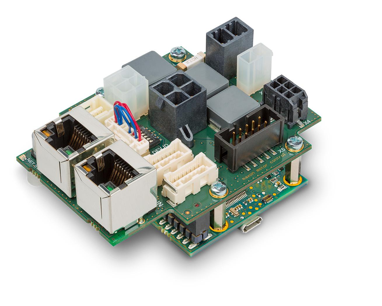 Compact controller communicates via EtherCAT